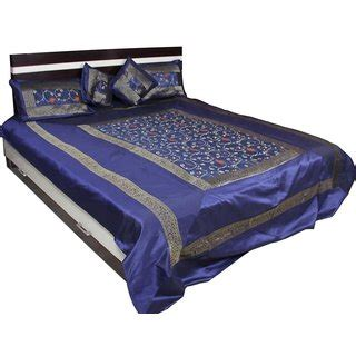 Lovely Bed Cover ufc mart lovely embroidery bed cover at best prices shopclues shopping store