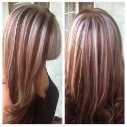 ptatinum highlights on brown hair platinum and red highlights beauty and fashion