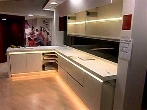 decoracion  tecnologia led en muebles de cocina youtube