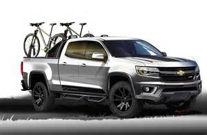 New Wheels Truck Chevy Gives Us The Colorado Sport Concept With New