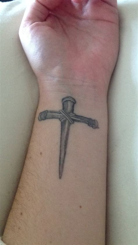 nail cross tattoo 98 best images about ideas on faith