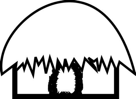hut black and white clip art at clker com vector clip