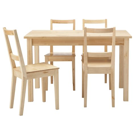 Ikea Wooden Kitchen Table Dining Room Furniture Appealing Ikea Dining Sets With Dining Table And Chairs Furniture