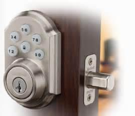Garage Door Deadbolt Lock by Electronic Keyless Entry Deadbolt With Digital Keypad