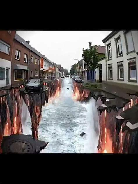 ilusiones opticas urbanas mejores 24 im 225 genes de arte urbano julian beever en