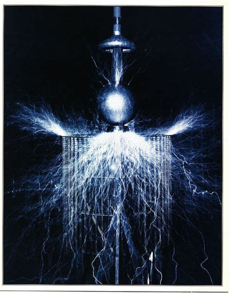 Where Did Nikola Tesla Study Quot Experiment To Illustrate The Capacity Of The Oscillator