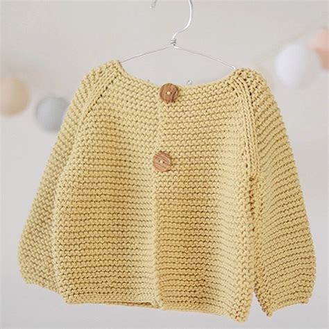 baby knitted jumper knitting pattern basic cardigan for children s and babies