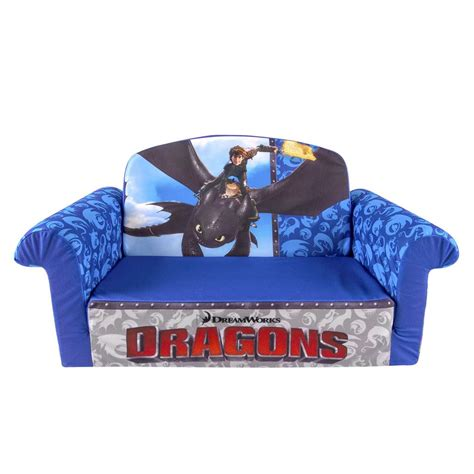 spin master marshmallow furniture flip open sofa dragons
