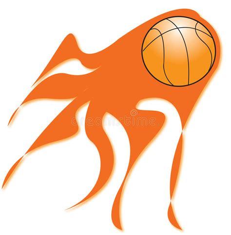flaming basketball coloring pages flaming basketball royalty free stock images image 12360239