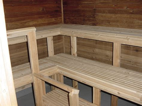 sauna bench lappe nordic ski club ski centre facilities