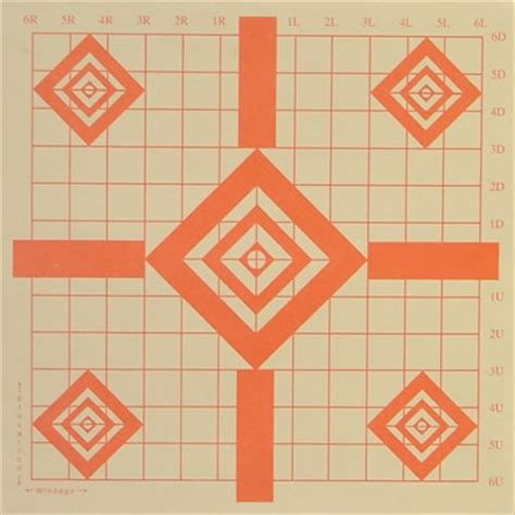 printable diamond targets s 2 diamond sight in target american target company