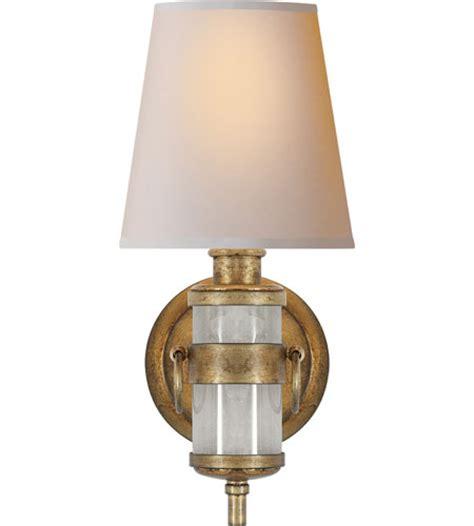 visual comfort lighting visual comfort thomas o brien jonathan sconce in quartz