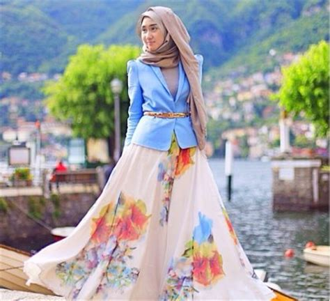 Tunik Hermes Fashion Wanita Muslim hana indriyani 10 hijabers paling populer di instagram