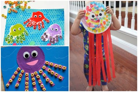 octopus crafts for 16 octopus crafts activities