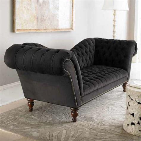 black victorian couch black velvet sofa velvet sofa ebay thesofa