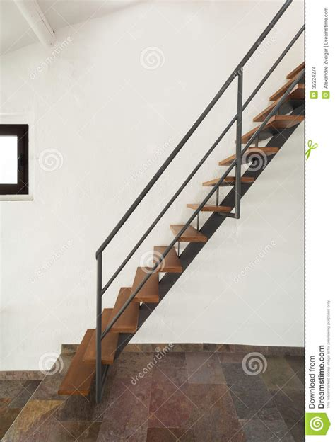 Open Loft Floor Plans interior rustic house stairs stock images image 32224274