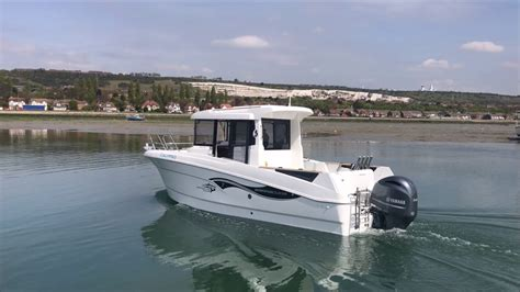 fishing boat club boat club trafalgar take their beneteau barracuda 7