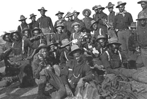 mr. hall's american history class: the buffalo soldiers