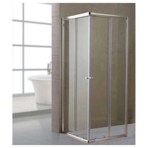 cabina doccia 70x70 box doccia bagno in cristallo trasparente 70x70 cm brico
