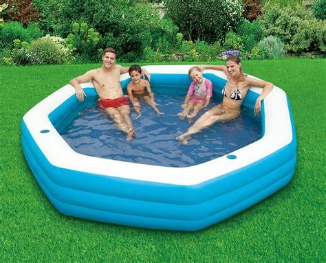inflatable backyard pools large inflatable lounge pool above ground pools pinterest