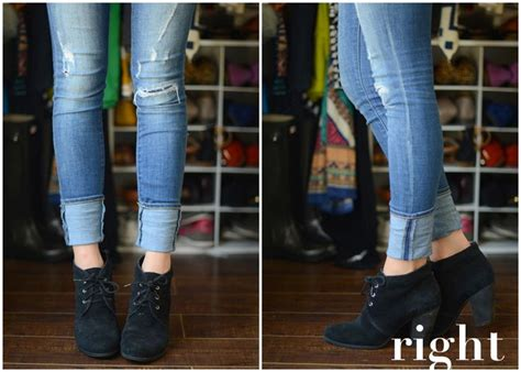 8 Fashion And Style Tips On Wearing Boots by How To Cuff Your With Ankle Boots Part 2 Ankle