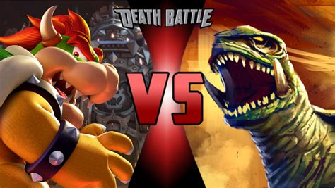 Kaos Fiction Sweet Tooth battle bowser vs gamera prelude by spykrueger