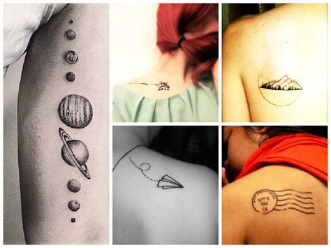 these travel tattoos will give you serious wanderlust