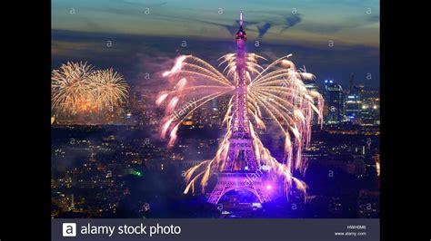 new year 2018 celebration period timelapse eiffel tower new year 2018 celebration in