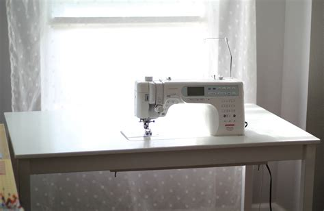 Diy Sewing Desk Diy Ikea Ingo Sewing Table Last Minute Geek