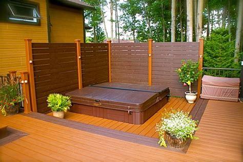Patio Spa Terrasse by Patio Plus Patio Avec Spa Int 233 Gr 233 Backyard Reno