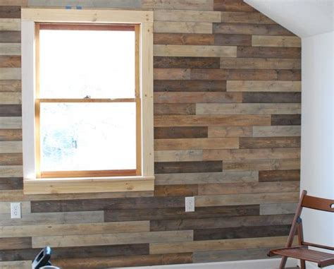 faux pallet wall for the home pinterest pallets e