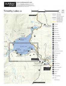 oregon cgrounds map timothy lake pine point cground cing in oregon