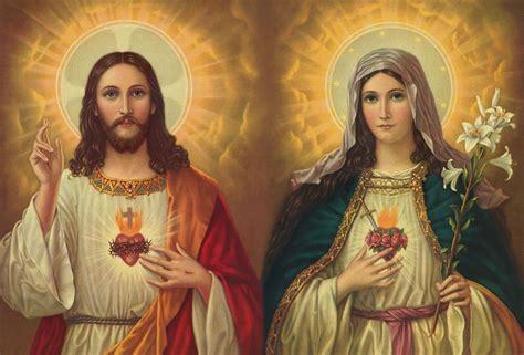 imagenes de jesus y la virgen maria juntos por qu 233 urge instaurar la devoci 243 n al inmaculado coraz 243 n