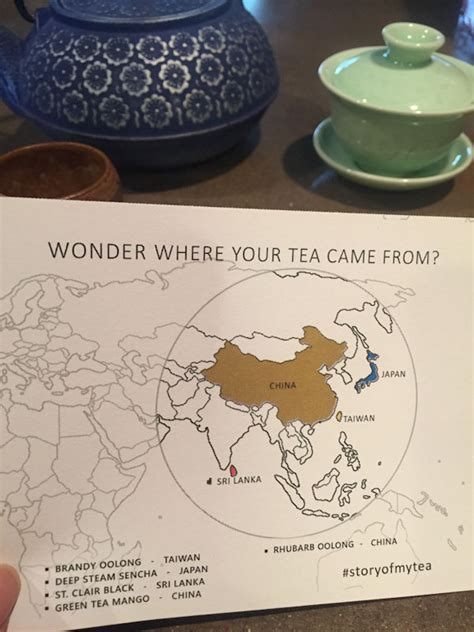 Teh Oolong My Tea tea reviews story of my tea oolong rhubarb oolong and more my tea vault