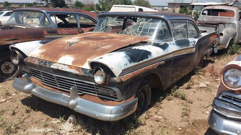 boat salvage yards arizona 1957 ford barn finds junk yard cars etc pinterest