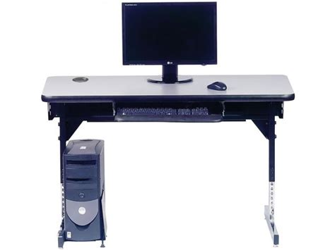 classroom computer tables 8700 series adjustable classroom computer table 36x30