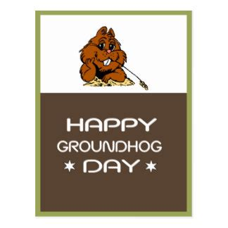 groundhog day greeting cards groundhog day cards zazzle