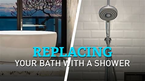 replacing a bath with a shower replacing your bath with a shower pros cons and tips