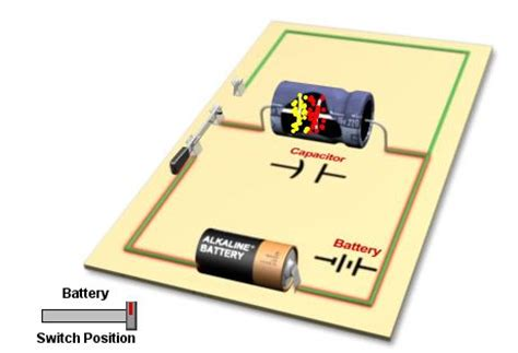 series capacitor discharge electric circuits