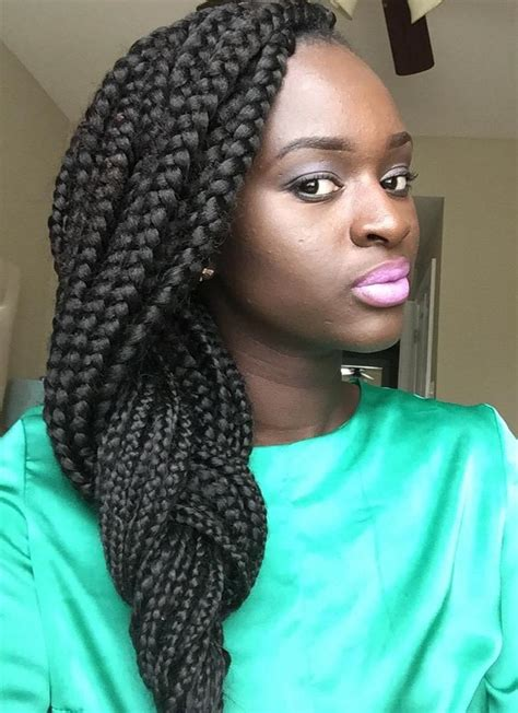 braided in 20 eye catching ways to style dookie braids