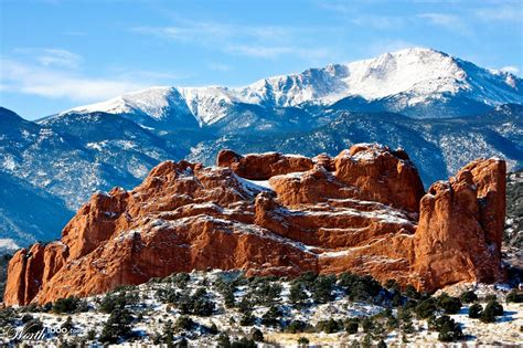 Garden Of The Gods Winter by Camels Rock Garden Of The Gods Worth1000 Contests