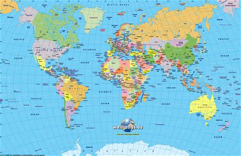 world city map free world atlas printable map