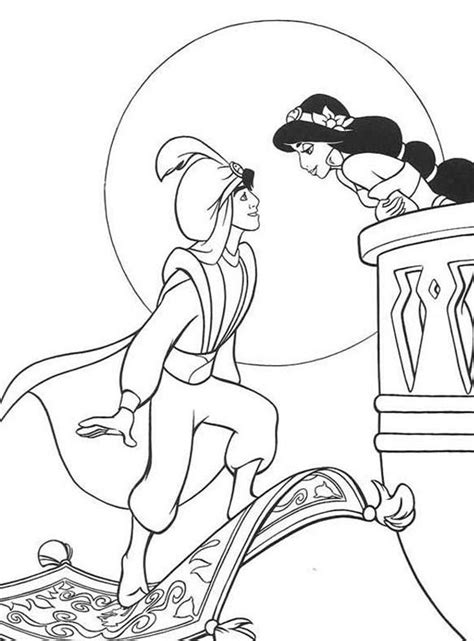 aladdin coloring pages only coloring pages