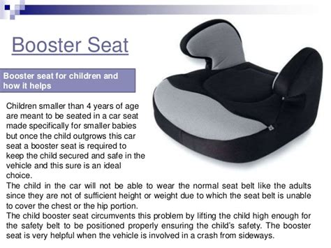 booster car seat weight age and height requirement for booster seats