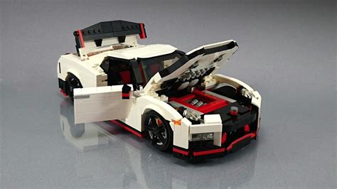 lego cars nissan gt r nismo fan creates his own lego masterpiece