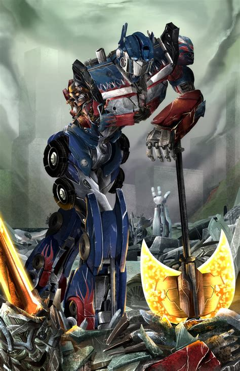 transformers painting optimus prime the transformers fan 36937122 fanpop