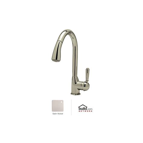 rohl pull out kitchen faucet rohl r7504lmstn 2 satin nickel classic kitchen faucet with