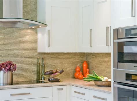 white kitchen cabinets with glass tile backsplash green glass tile backsplash contemporary kitchen