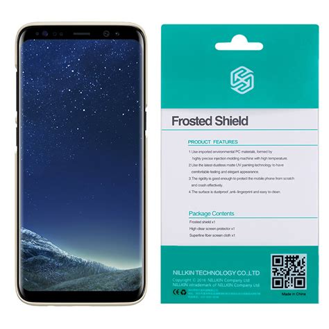 Samsung Galaxy S8 Plus Nillkin Frosted Hardcase Free Anti Gores nillkin frosted shield samsung galaxy s8 plus gold