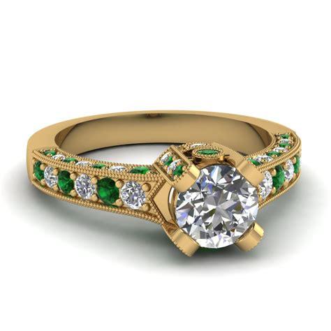 cut crown antique vintage engagement ring